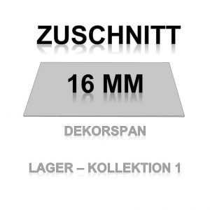 Zuschnitt K1 - 16mm