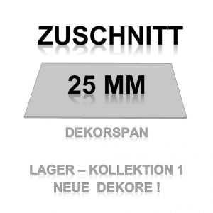 Zuschnitt K1 - 25mm